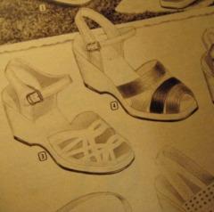 1954 shoe styles summer speigel bettebegoodvintage