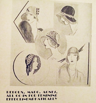 1930s vintage designer hats